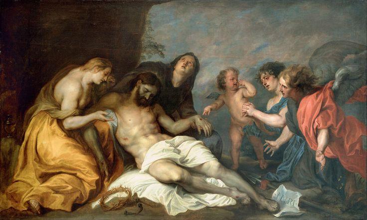 Anthony Van Dyck - Lamentation (1640)