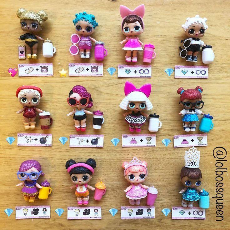 LOL Surprise Dolls Glitter Series