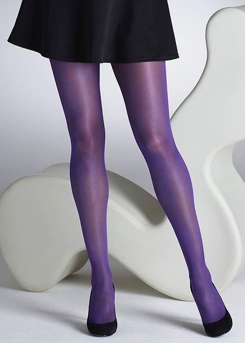 cfbe2923c8dde Gipsy Sheer Gloss 15 Denier Tights | Tights | Purple tights, Tights ...