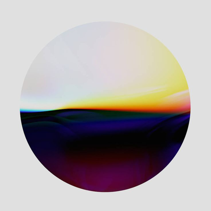 Abstract Pictures of Chromatic Light Transitions – Fubiz Media