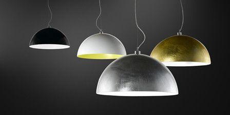¡Novedad! Lámparas en metal de colores