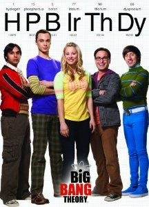 Big Bang Theory Happy Birthday Cards