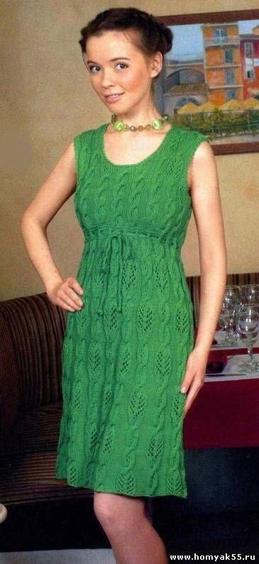 зелёное платье в стиле бэби долл