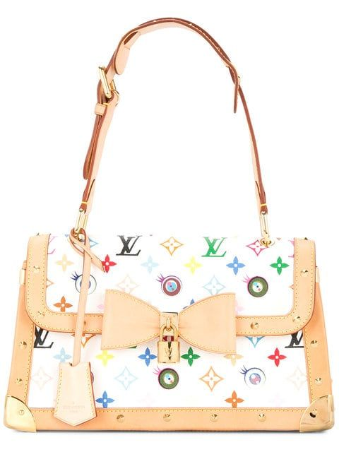 8027c9815a Louis Vuitton Vintage | Eye Miss You Shoulder Bag | $9,400 | White and  beige leather