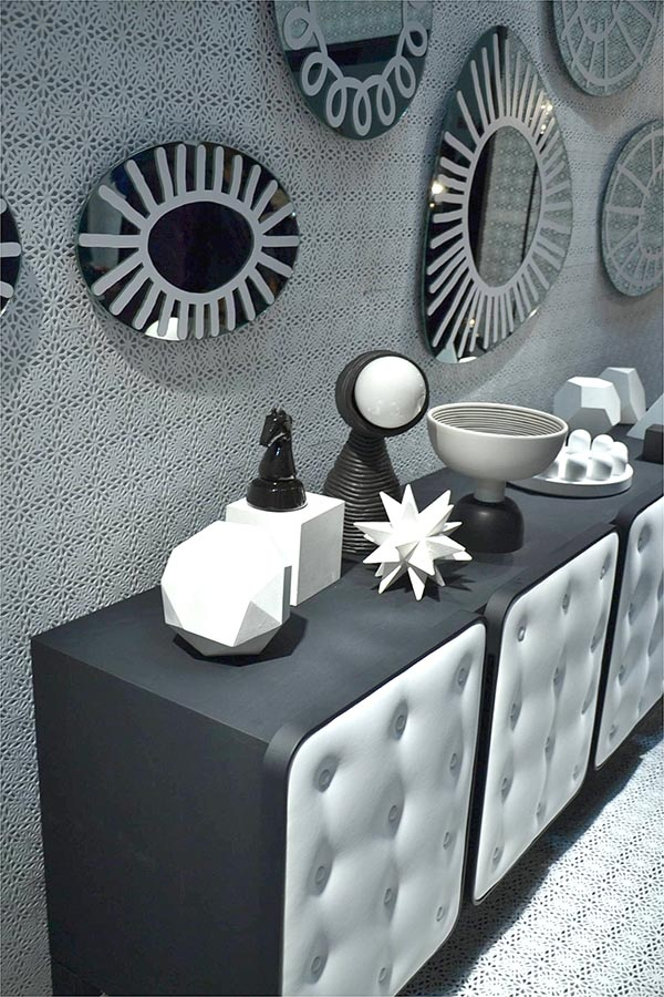 Black And White Collection From Paola Navone For Gervasoni | Salone Del  Mobile 13 | Eclectic