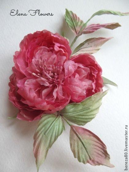 "Староанглийская роза брошь ""Love Story"". Handmade."
