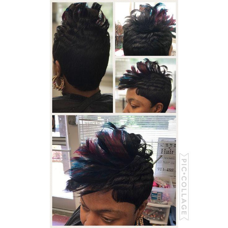 Style zone hair salon  27 piece quick weave