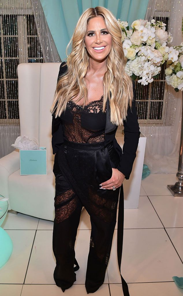 Kim Zolciak from The Big Picture: Today's Hot Pics Birthday girl! The Real Housewife attends her birthday celebration in Atlanta, Georgia.