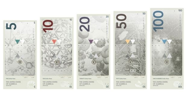 Futuristic Redesign of US Currency
