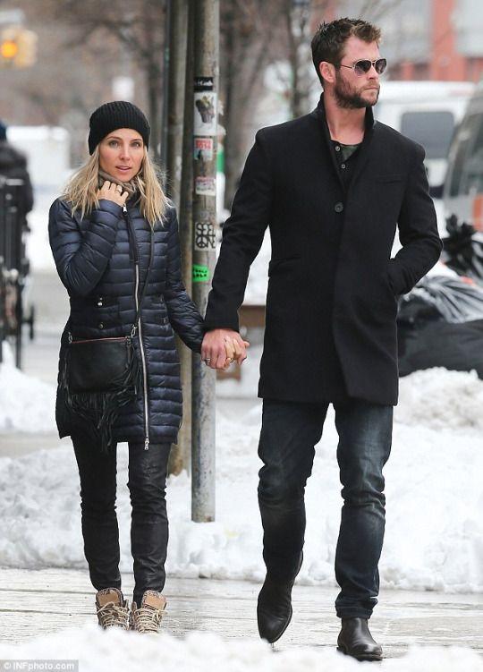 Chris and Elsa in New York