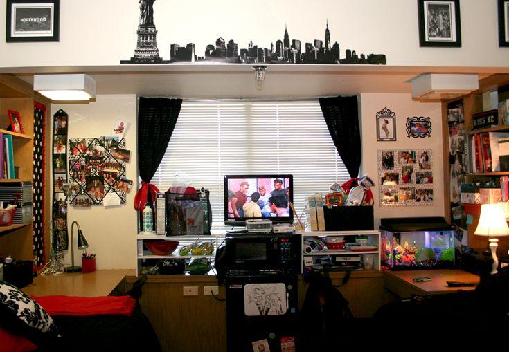 texas tech dorm room...brings back alot of memories!