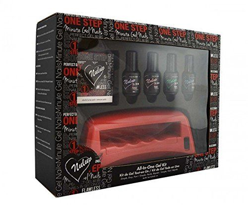 Nailuv All-in-one Gel Nail Polish Kit with 4 Colors -- To view further for this item, visit the image link.