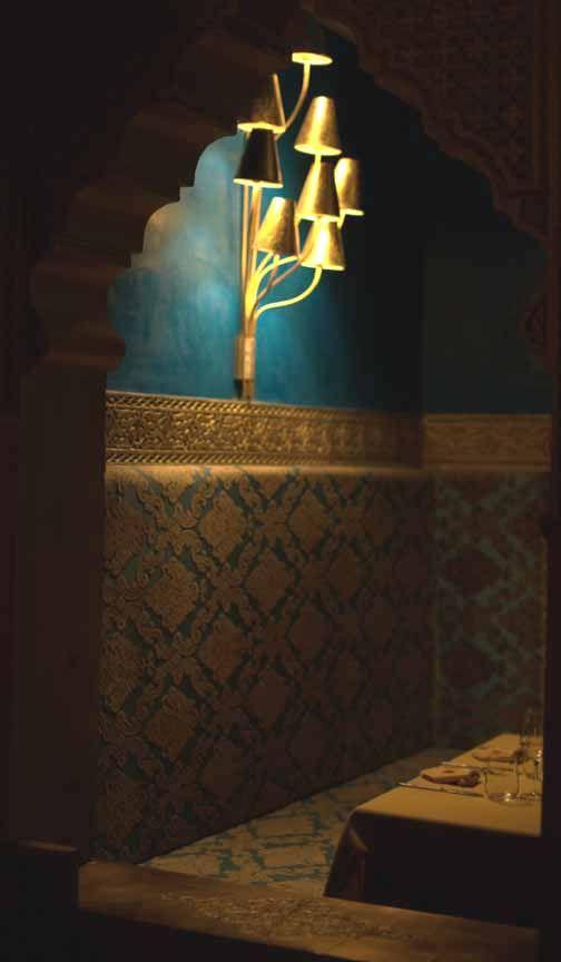 Moroccan interior design My Marrakesh blog Love the gold!
