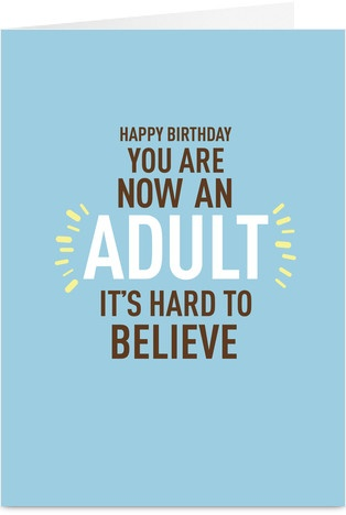 Now Adult Birthday