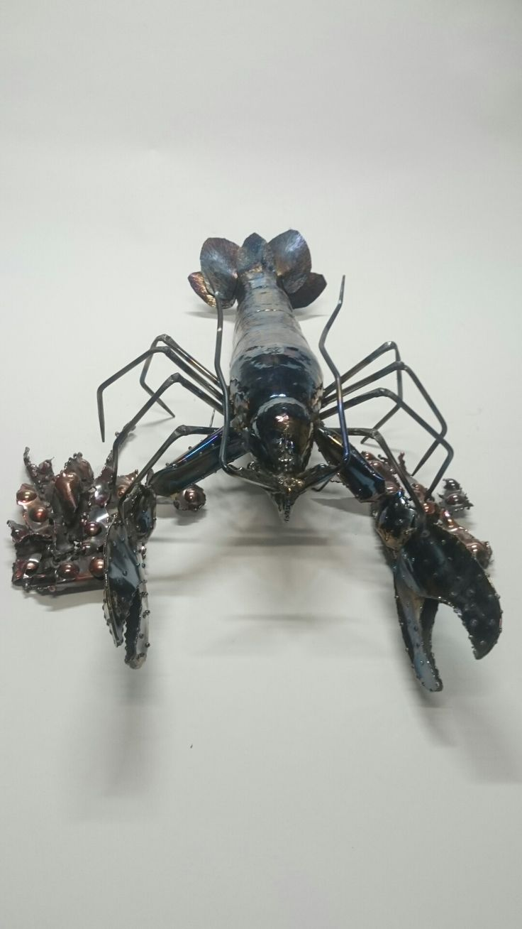 "Steel lobster 30"" long"