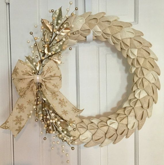 Hey, I found this really awesome Etsy listing at https://www.etsy.com/listing/470955206/burlap-petal-christmas-wreath-burlap