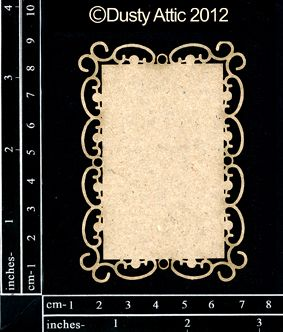 The Dusty Attic Da0674 Atc Frame 2 Vinyl Amp Paper