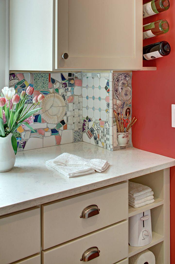 Eye Candy Beautiful Mosaic Kitchen Backsplash Ideas RV Renovation