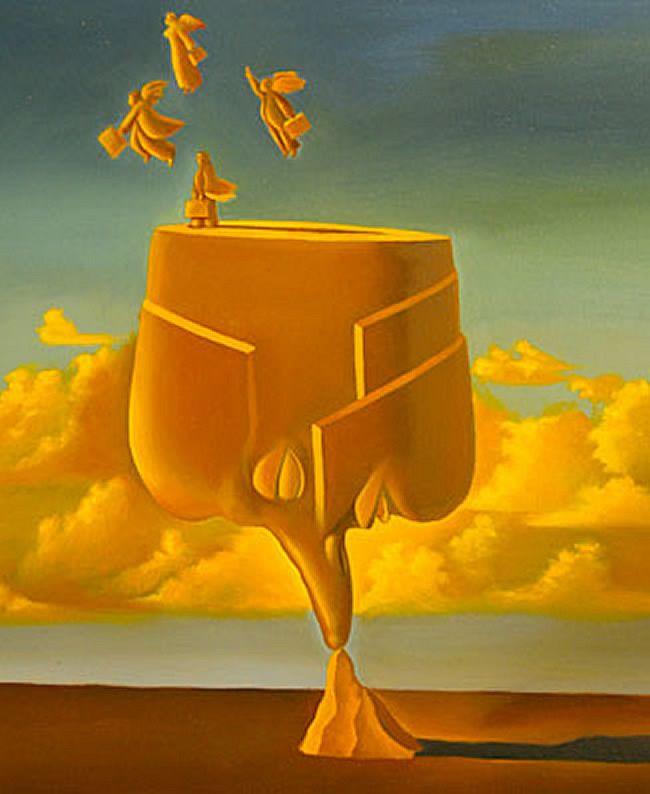 pinturas de ruben cukier pintura surrealista argentina pintores argentinos surrealismo