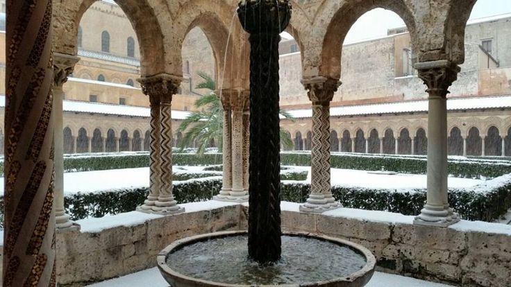 Neve a Monreale