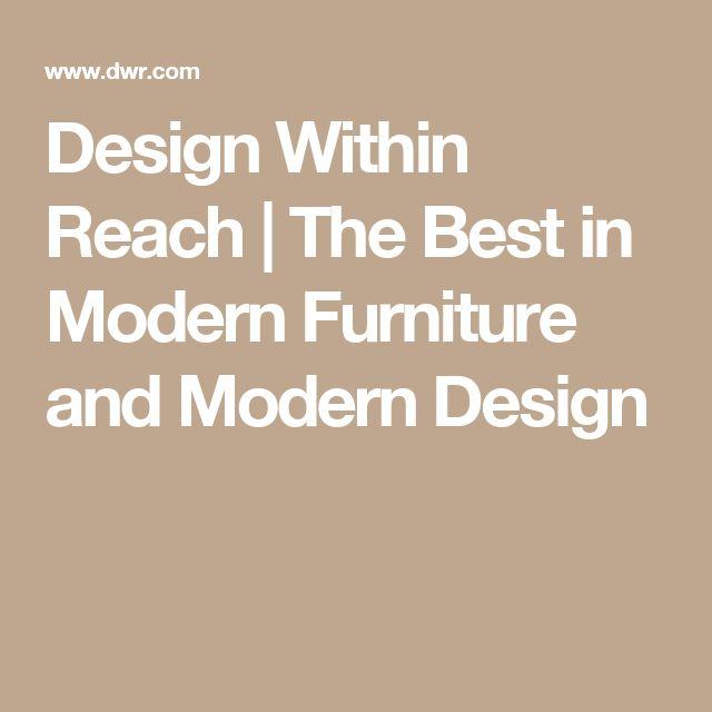 Design Within Reach | The Best in Modern Furniture and Modern Design