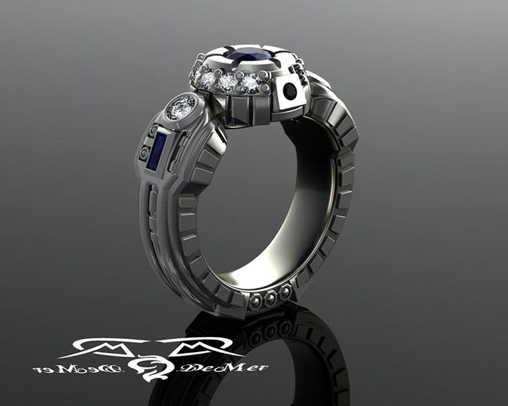 anel-de-noivado-para-mulheres-geek-r2d2