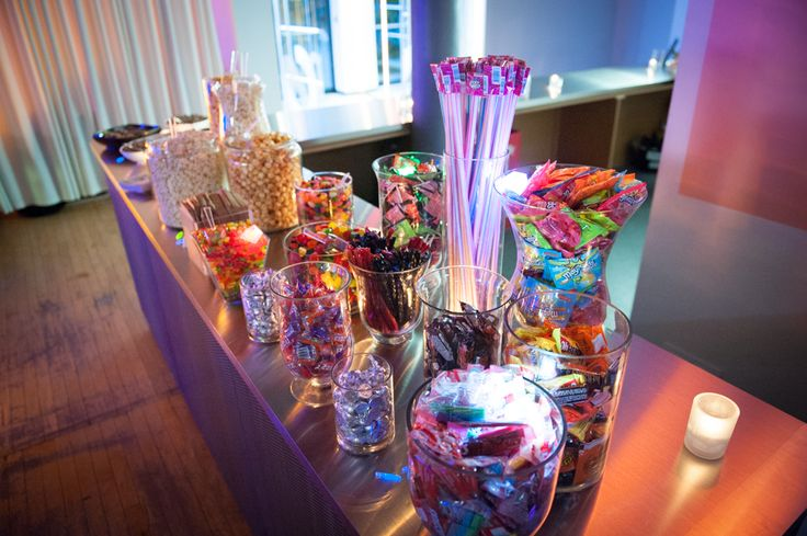 Candy station - 2nd Floor Events http://www.fusion-events.ca/