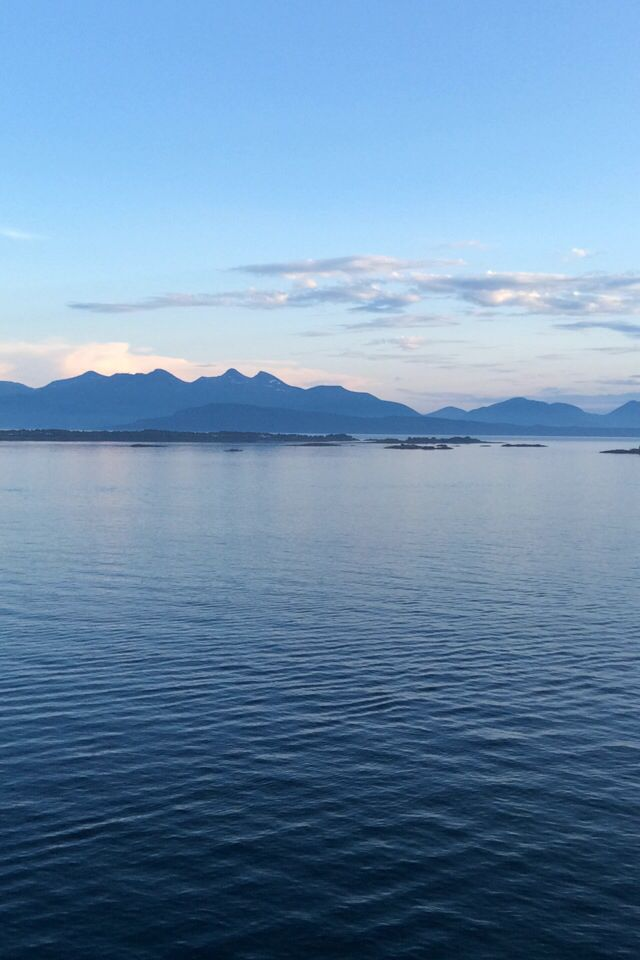 Evening with a view, in wonderful Molde