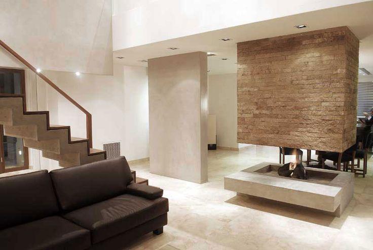 Leloir House (2009) Proyecto, Dirección de Obra y Construcción  Más información: http://vanguardaarchitects.com/es/what-we-do.php?sec=house&project=46  #Arquitectura #Architecture #Disenio #Design #SittingRooms #SalaDeEstar