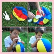 Image of Palla-palloncino per giocare (gonfiabile in stoffa!)