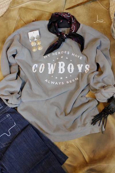 Cowboys ~ Sweatshirt