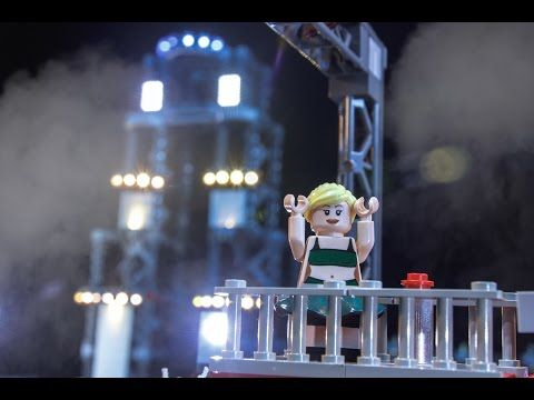 Jessie Graff's epic completion of ANW Stage 1... In LEGO!