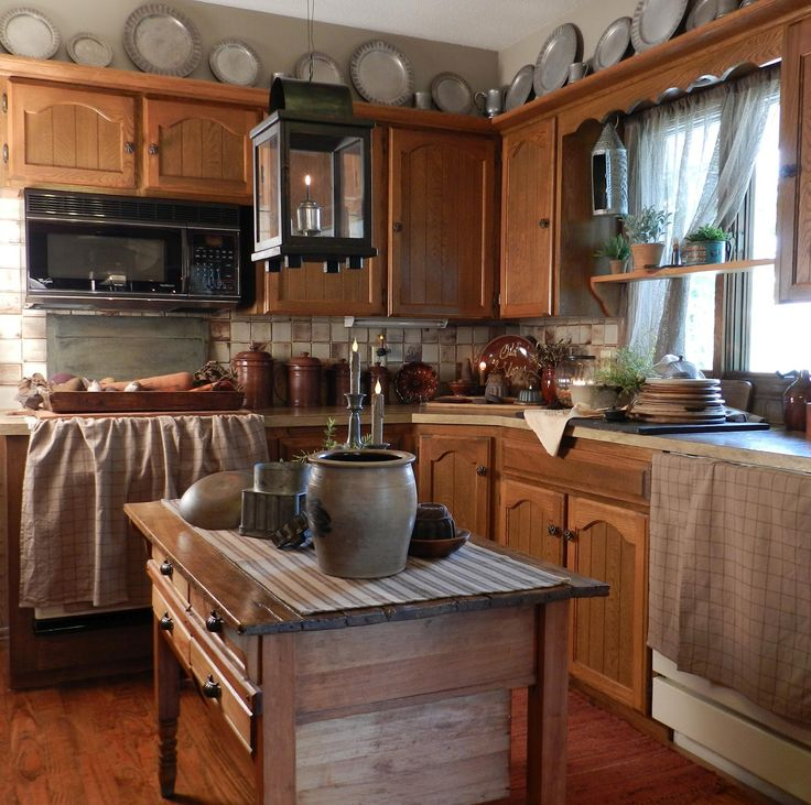 17 Best Images About Prim & Colonial Kitchens And