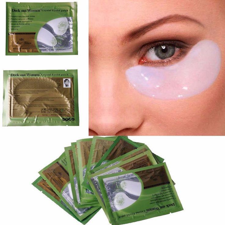 Collagen Crystal Eye Masks Dark circle http://mobwizard.com/product/20-pcs10-pairlot-c32618497375/