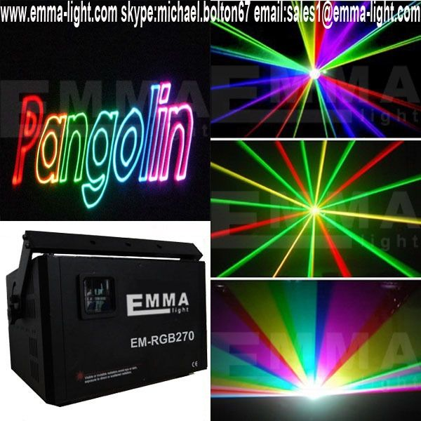 2498.00$  Watch now - http://aliyvg.worldwells.pw/go.php?t=2009037298 - 5W RGB Full Color Laser Light at Guangzhou Fair