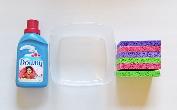 homemade reusable dryer sheets, cleaning tips, how to, laundry rooms
