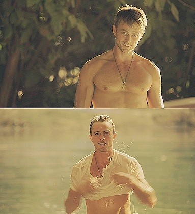 Wilson Bethel- This is why I watch Herat of Dixie hahaa
