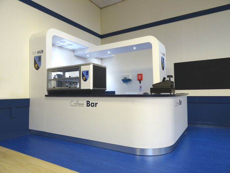 Lincoln Castle Academy - Sixth Form Coffee Hub - Interior Design