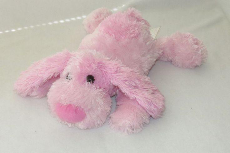 "Wal-Mart Pink Puppy Dog Plush Shiny Floppy Stuffed Animal Spot Walmart Toy 18"" #WalMart"