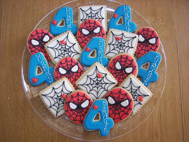 Galletas de Spider-man