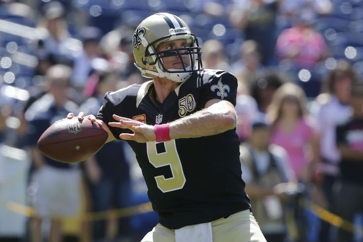 Video: Drew Brees has emotional message for teammates before Chargers game