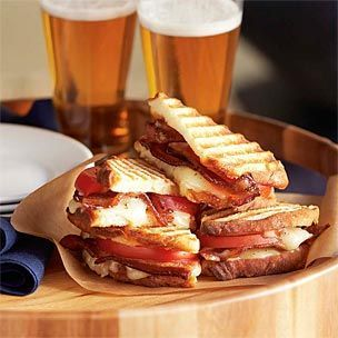 panini from williams sonoma simply use the panini press then cut into ...