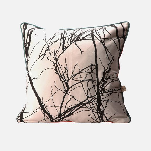 Love Milo -  Branches Cushion with Piping