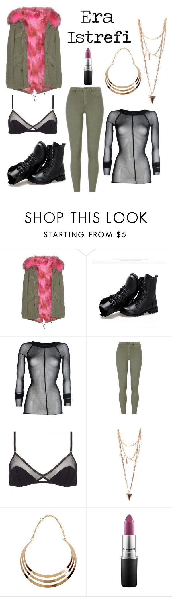 """""""Inspired by:Era Istrefi"""" by lunaly123 ❤ liked on Polyvore featuring Mr & Mrs Italy, Sunsteps, Plein Sud Jeanius, Ysé, Givenchy and MAC Cosmetics"""
