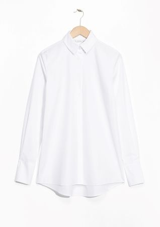 & Other Stories image 1 of Organic Cotton Shirt  in White