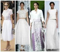 Resultado de imagen para faldas largas de chifon para boda