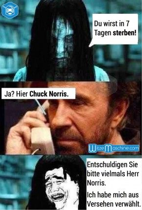 Lustige Chuck Norris Witze - The Ring