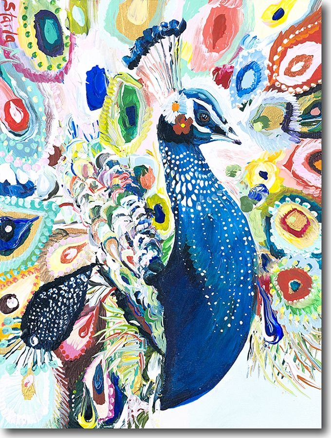 P for Peacock