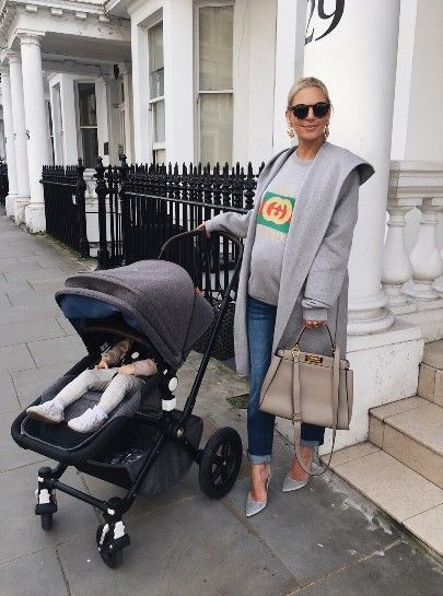 An easy way to dress up jeans & a sweatshirt is by adding some statement accessories to the mix and my current obsession is earrings! They go with everything and can turn even the simplest of looks into something more put together. Ps - I am going to miss my pram! Only a few more weeks until I need to switch to a double buggy 😬❤️ http://liketk.it/2sS3u #liketkit @liketoknow.it