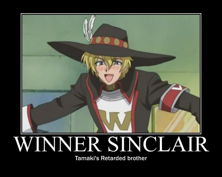 NO WAY I THOUGHT THAT HE WAS EXACTLY LIKE TAMAKI THIS IS HILARIOUS!!!